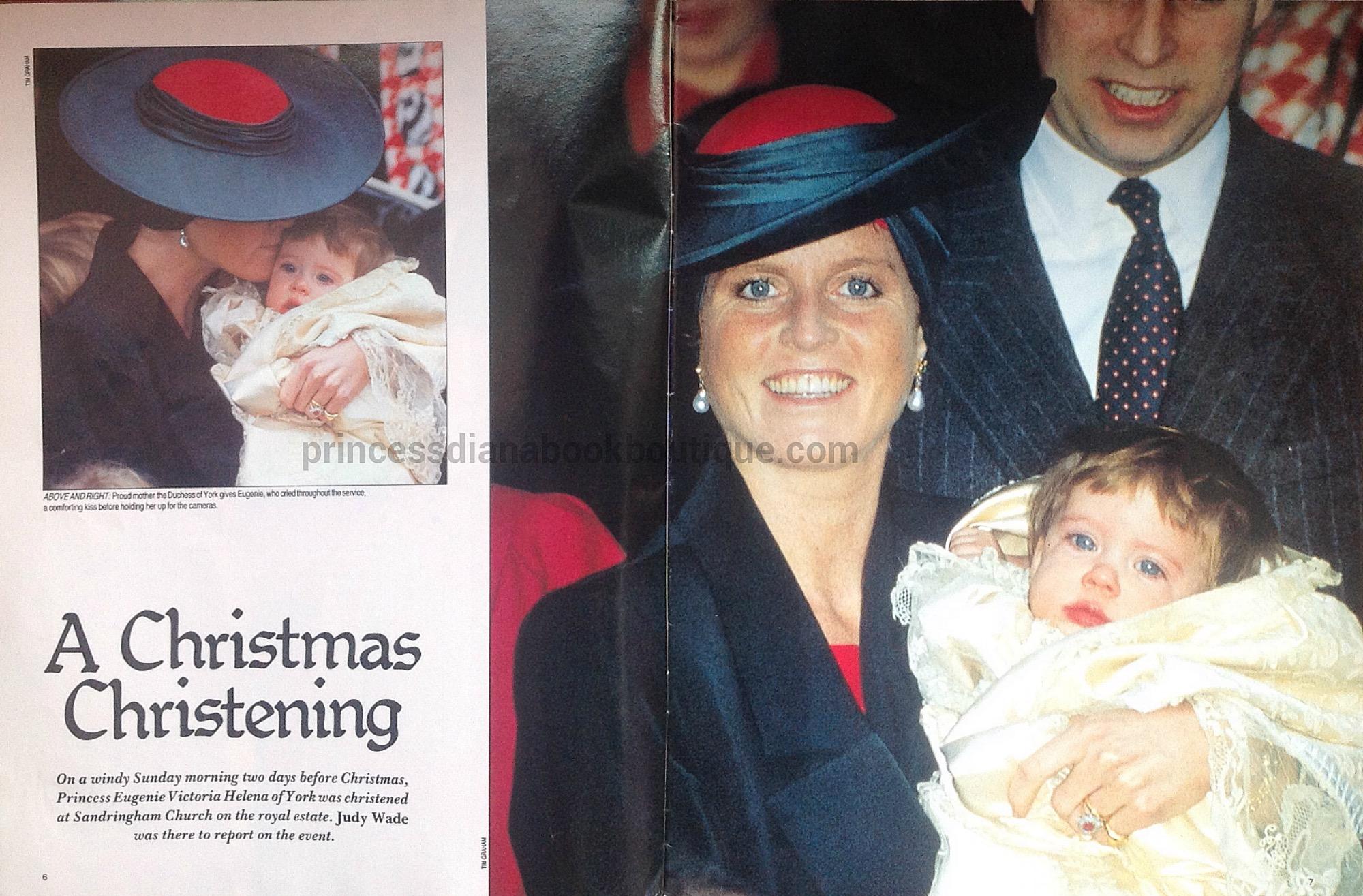 Christmas Christening.A Christmas Christening Our Princess Diana 12 Days Of