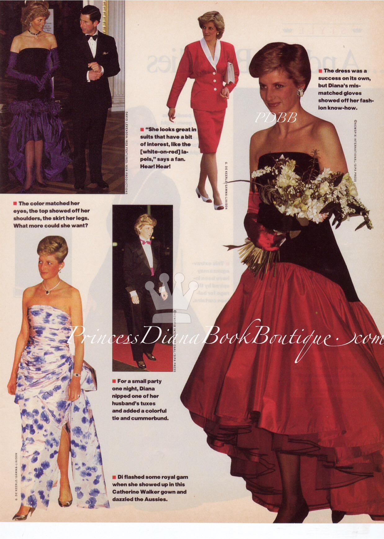 Princess Diana Fashion Princess Diana Style Page 2