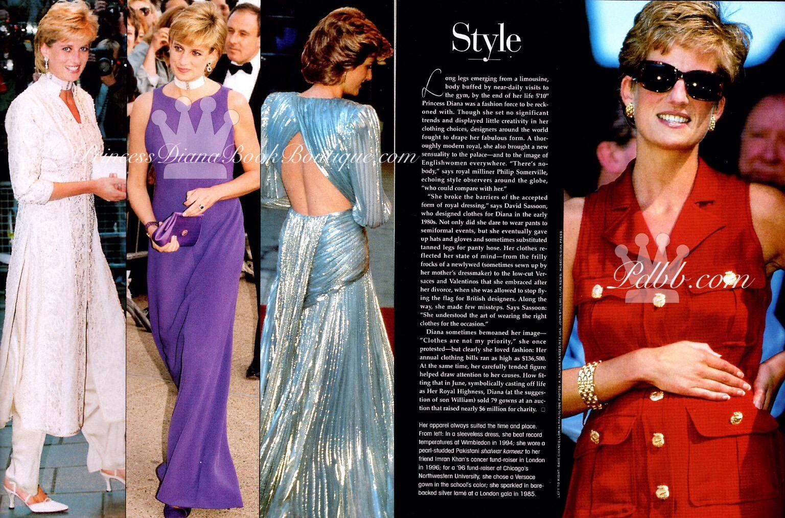 Princess Diana Style Princess Diana News Blog All