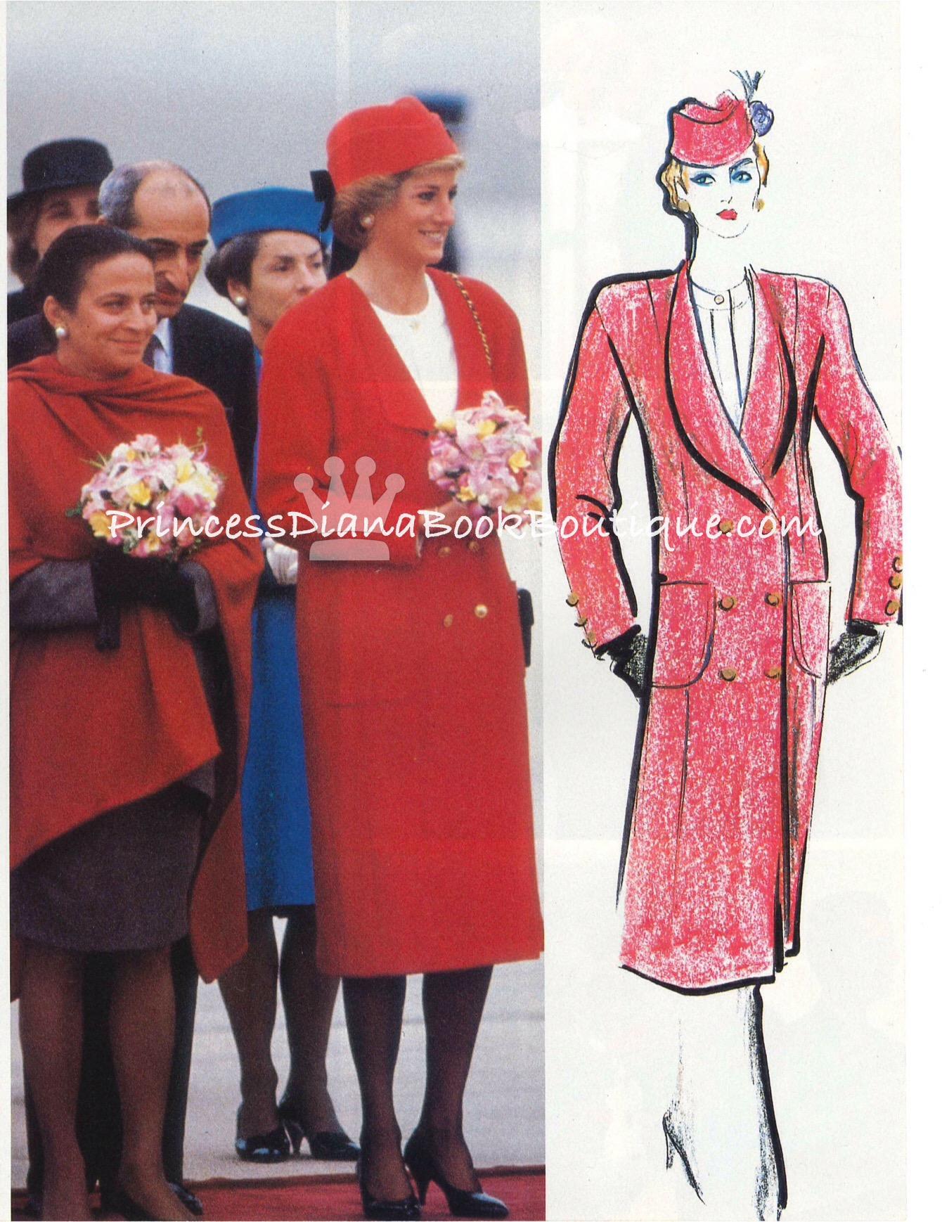 Princess Diana Early Fashions Princess Diana News Blog
