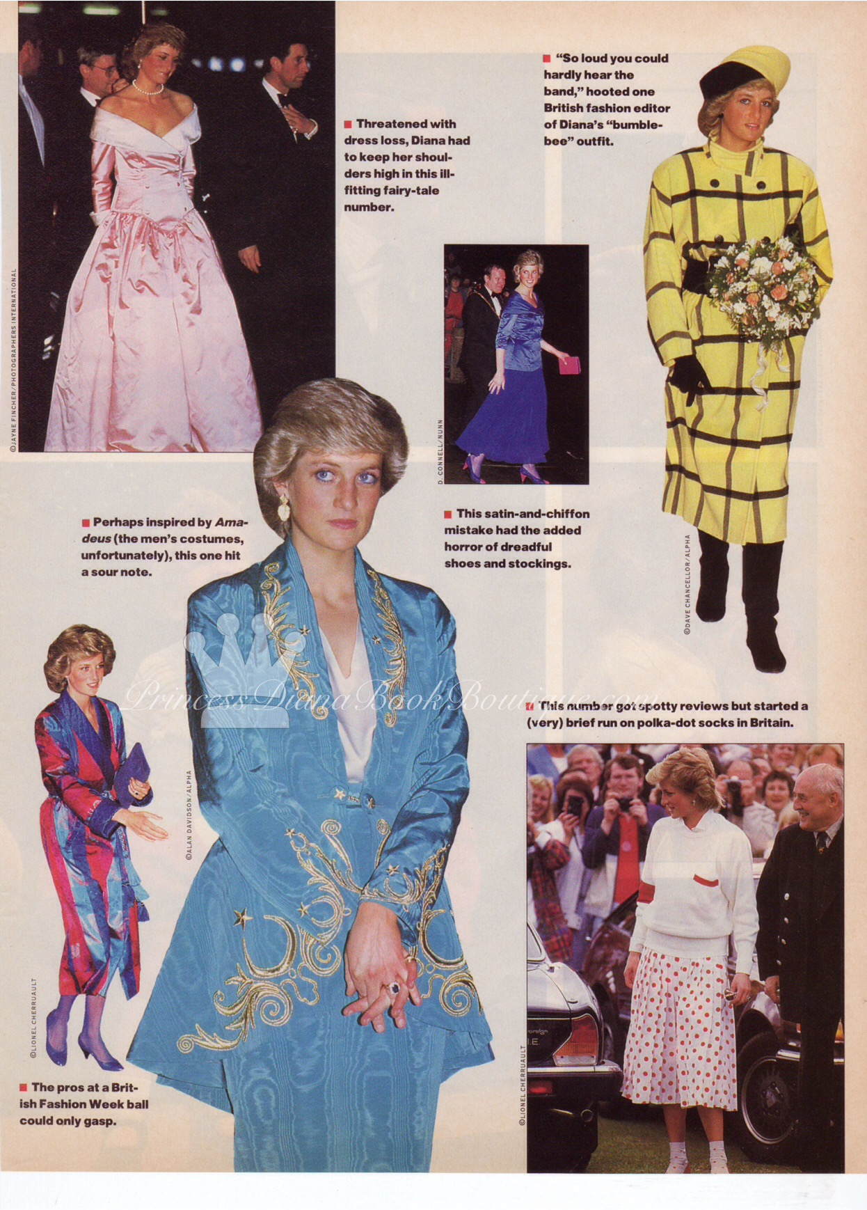 Princess Diana Fashions Page 2 Princess Diana News