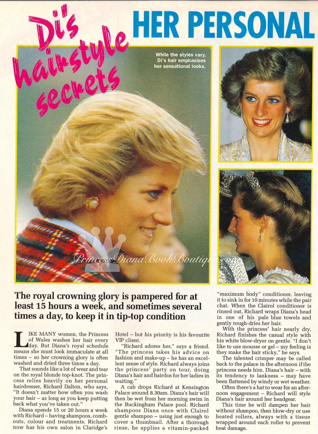 Fantastic Princess Diana Hairstyles Princess Diana News Blog Quotall Things Short Hairstyles For Black Women Fulllsitofus