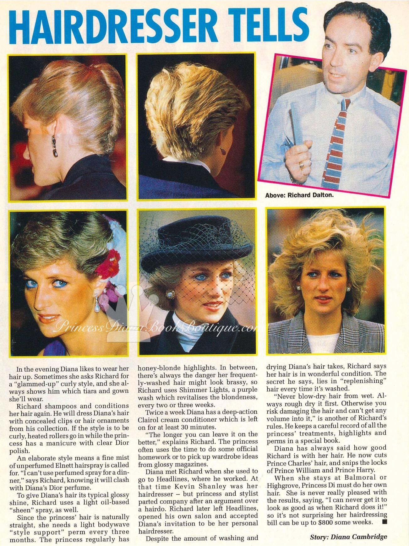 Princess Diana Hairstyles Princess Diana News Blog All Things