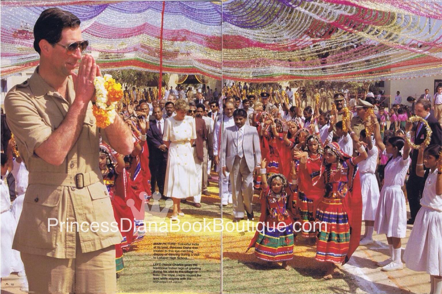 As The Duke Duchess Of Cambridge Tour India We Remember Princess