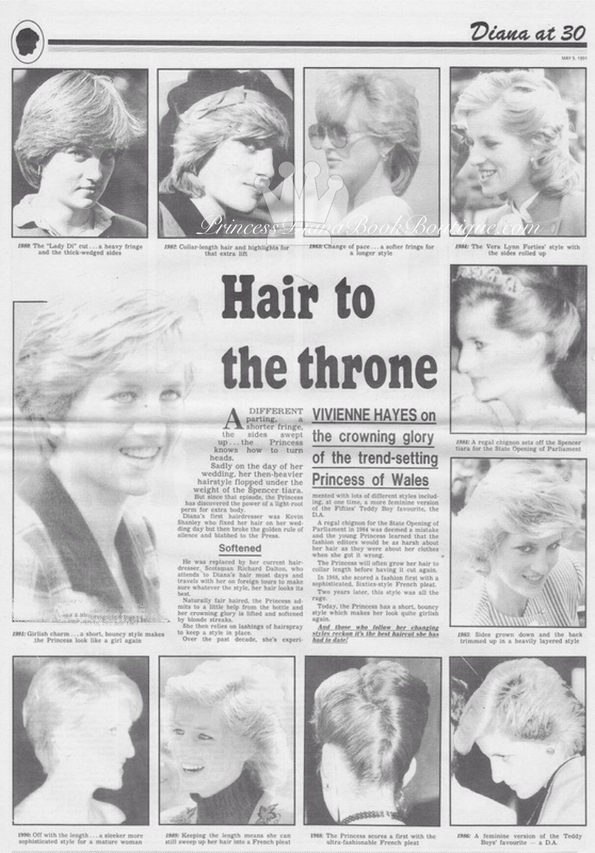 Princess diana hairstyles – Princess Diana News Blog