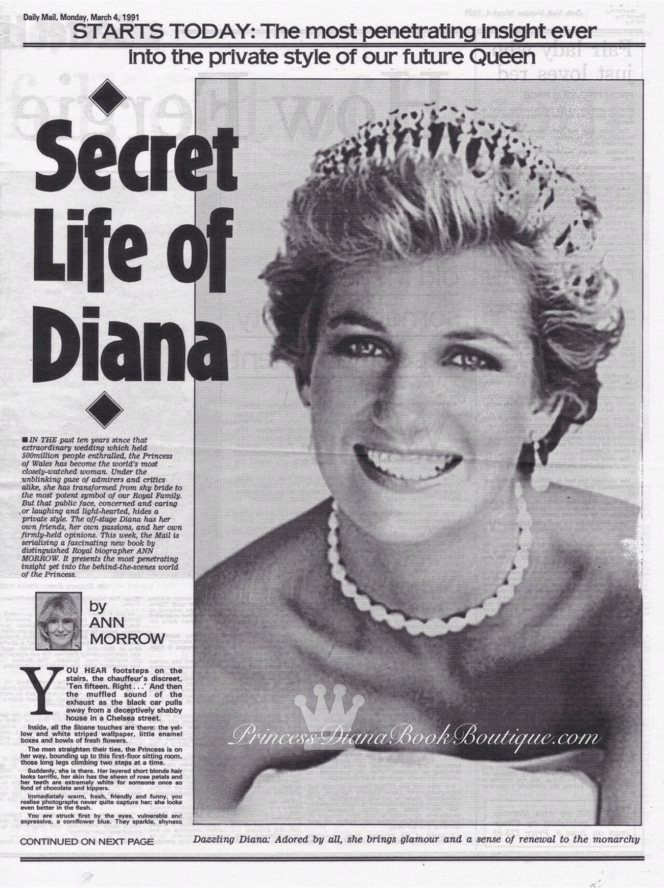 life of diana How diana damaged william a junor believes, was rooted in diana's difficult childhood her home life was marked with unhappiness and there were frequent.