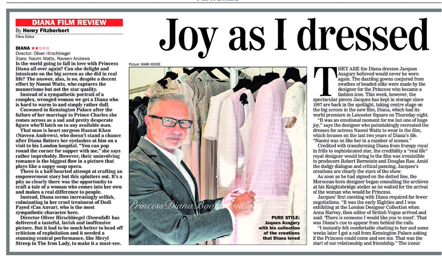 Joy As I Dressed Diana All Over Again Our Princess Fashion Article Today Is From 2013
