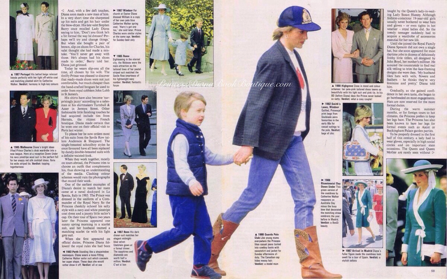 Princess Diana Fashion Page 2 Princess Diana News Blog All