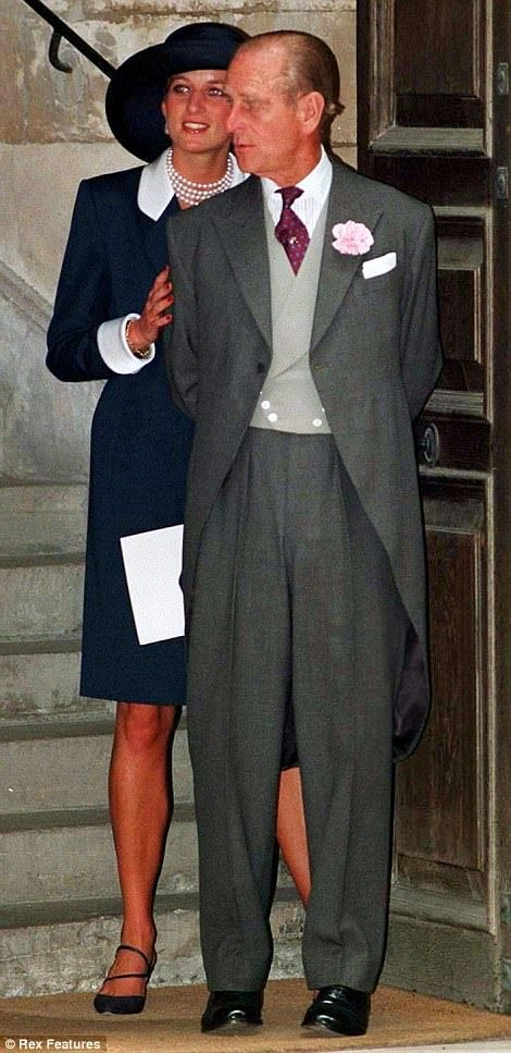 Dearest Pa: Prince Philip supported Princess Diana during the breakup of her marriage in1992